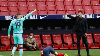 صورة ليفانتي يكرر إيقافه لأتلتيكو مدريد بهزيمته
