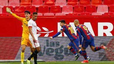 صورة برشلونة يقلل الفارق بينه وبين أتلتيكو مدريد لنقطتين بعد الفوز على إشبيلية