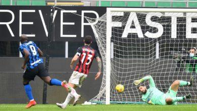 صورة الإنتر يفوز بديربي الغضب بثلاثية نظيفة في ميلان
