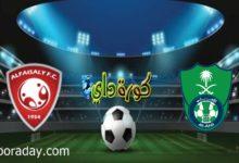 صورة موعد مباراة الأهلي والفيصلي في الدوري السعودي والقنوات الناقلة