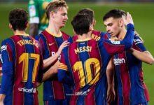 صورة تشكيلة برشلونة ضد أوساسونا في مباراة اليوم