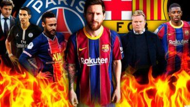 صورة تشكيلة برشلونة ضد باريس سان جيرمان في مباراة اليوم
