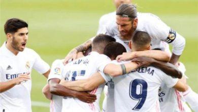 صورة تشكيلة ريال مدريد ضد سيلتا فيغو في مباراة اليوم