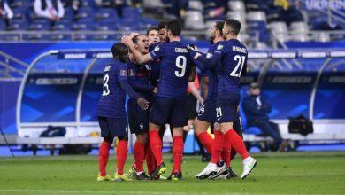 صورة تشكيلة فرنسا ضد كازاخستان في تصفيات كأس العالم