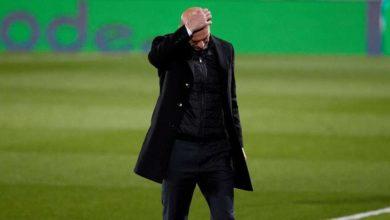 صورة زيدان: خطتي لم تنجح أمام ريال سوسيداد