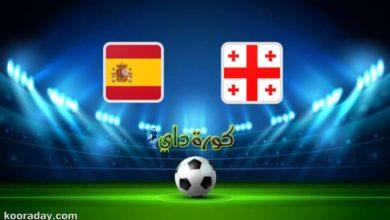 صورة مشاهدة مباراة إسبانيا و جورجيا بث مباشر اليوم في تصفيات كأس العالم