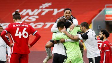 صورة فولهام يكبد ليفربول خسارة أخرى جديدة بالدوري الإنجليزي