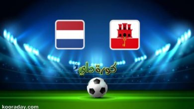 صورة مشاهدة مباراة هولندا وجبل طارق بث مباشر اليوم في تصفيات كأس العالم