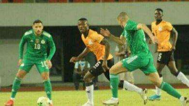 صورة تشكيلة الجزائر الرسمية ضد بوتسوانا في تصفيات الأمم الأفريقية