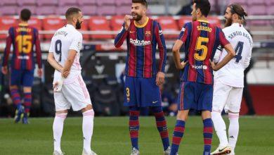 صورة تحديد موعد الكلاسيكو ما بين ريال مدريد وبرشلونة
