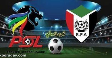 صورة موعد مباراة السودان وجنوب أفريقيا والقنوات الناقلة
