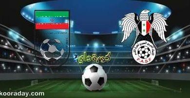 صورة موعد مباراة سوريا وإيران والقنوات الناقلة