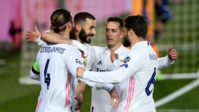 صورة قائمة ريال مدريد لمباراة تشيلسي بدوري أبطال أوروبا