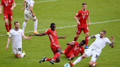صورة بايرن ميونيخ يسقط في فخ التعادل مع يونيون برلين