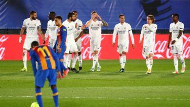 صورة ريال مدريد ينتصر على برشلونة ويعتلي صدارة الليجا