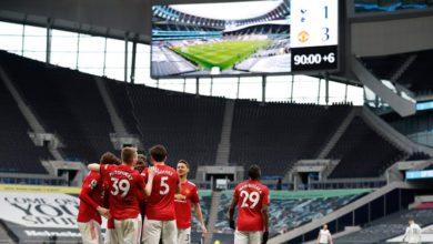صورة مانشستر يونايتد يتغلب عل توتنهام بثلاثية