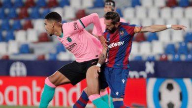 صورة برشلونة يرفض الصدارة مرة أخرى بالتعادل مع ليفانتي