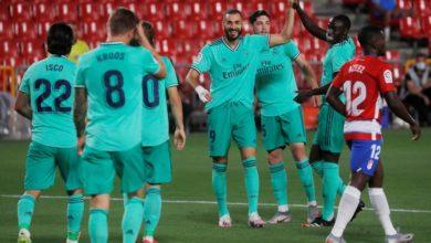 صورة تعرف على معلق مباراة ريال مدريد وغرناطة في الدوري الأسباني