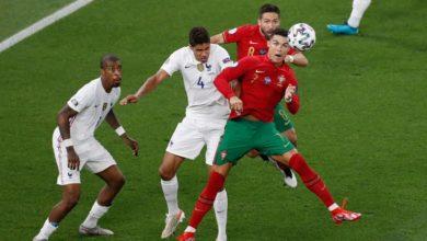 صورة فرنسا والبرتغال يتعادلان بهدفين لمثلهما