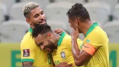 صورة تشكيلة البرازيل أمام باراجواي في مباراة اليوم