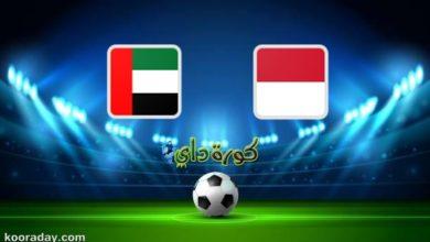 صورة مشاهدة مباراة الإمارات وإندونيسيا بث مباشر اليوم في تصفيات آسيا المؤهلة لكأس العالم 2022