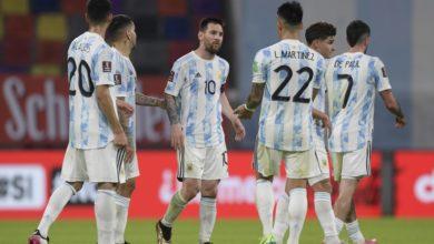 صورة تشكيلة الأرجنتين المتوقعة أمام تشيلي في كوبا أمريكا 2021