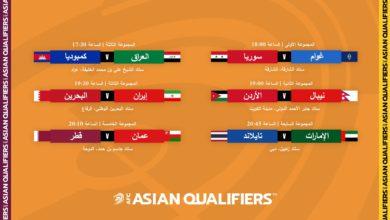 صورة تعرف على مواجهات المنتخبات العربية المشاركة في تصفيات كأس آسيا 2023 وكأس العالم 2022
