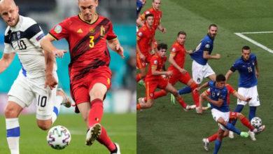 صورة الطريق إلى نهائي بطولة يورو 2020 .. إيطاليا وبلجيكا في اتجاه واحد وموقعة منتظرة بين بطلين سابقين