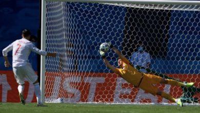 صورة بعد توالي إهدار ركلات الجزاء .. المنتخب الإسباني يتدرب على ركلات الترجيح قبل لقاء كرواتيا