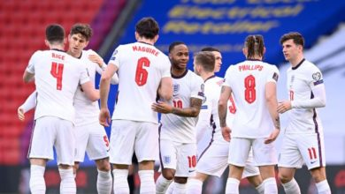 صورة تشكيلة إنجلترا ضد أوكرانيا في مباراة اليوم