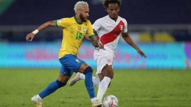 صورة تشكيلة البرازيل ضد بيرو في مباراة اليوم