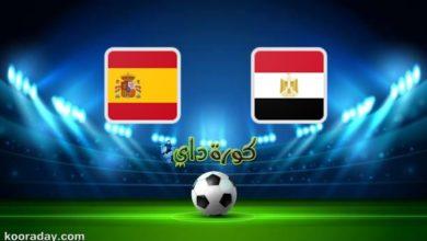 صورة نتيجة مباراة مصر وإسبانيا اليوم في بطولة أولمبياد طوكيو 2020