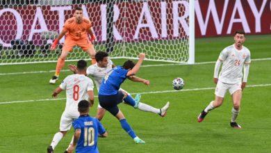 صورة لغة الأرقام قبل النهائي.. إيطاليا تتحدى رهبة ويمبلي بالتفوق الهجومي